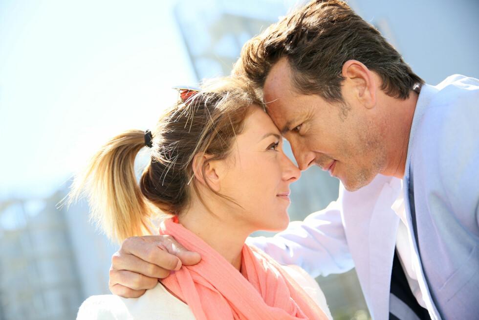 SI HVA DU FØLER: Det å fortelle hva man føler for partneren sin er utrolig viktig, da det styrker forholdet. Foto: goodluz - Fotolia