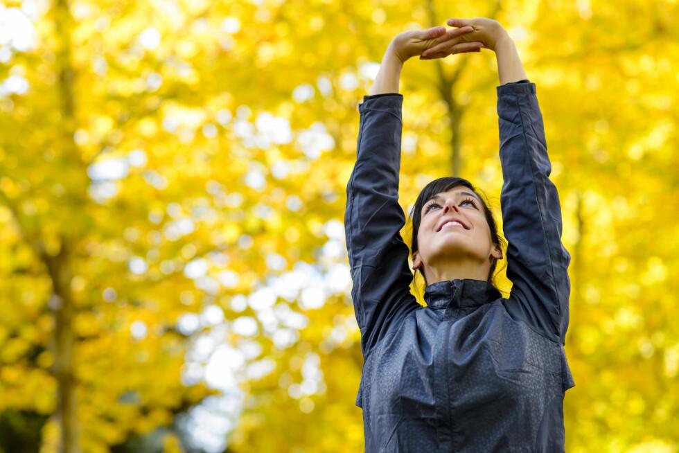 BRYT DEN ONDE SIRKELEN: Tdiligere studier har blant annet vist at fysisk aktivitet er effektivt mot depresjon - gjerne kombinert med frisk luft og godt selskap. Foto: Dirima - Fotolia