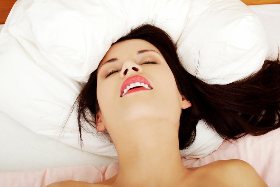 <strong>ORGASME:</strong> Om du venner deg til stimuli fra en vibrator kan du få problemer med å oppnå orgasme uten.  Foto: Piotr Marcinski - Fotolia