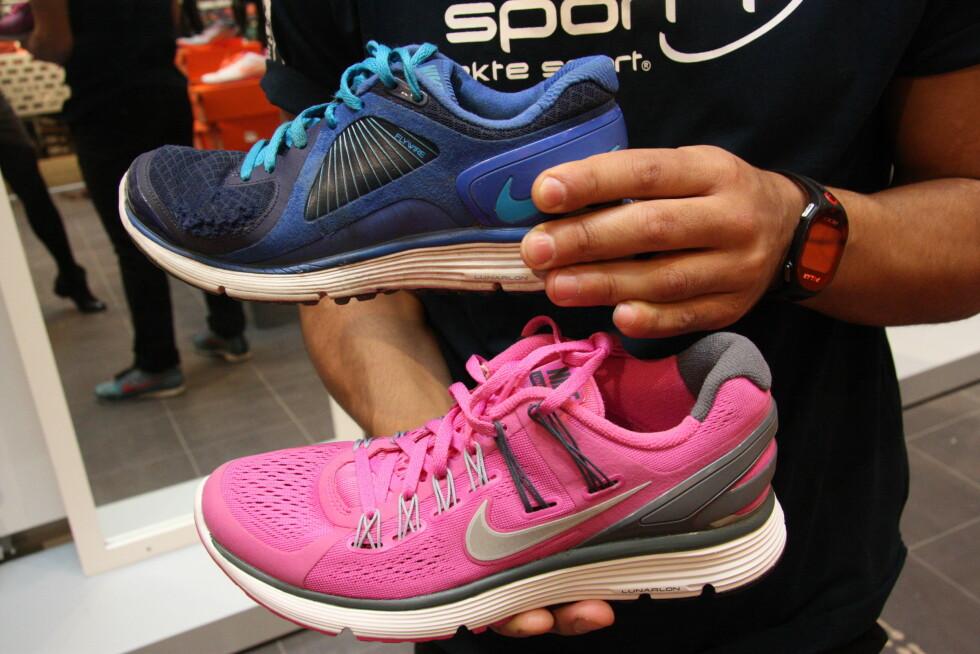 PÅ TIDE MED NYE SKO? De fleste sko er laget for å holde i opp til ett år - selv om det i stor grad avhenger av hvordan du bruker dem. De fleste er laget for bruk 2-3 ganger i uken. Foto: Tone Ruud Engen