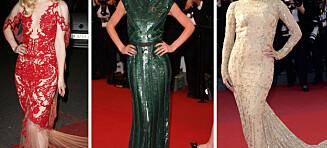 Cannes-festivalens lekreste kjoler