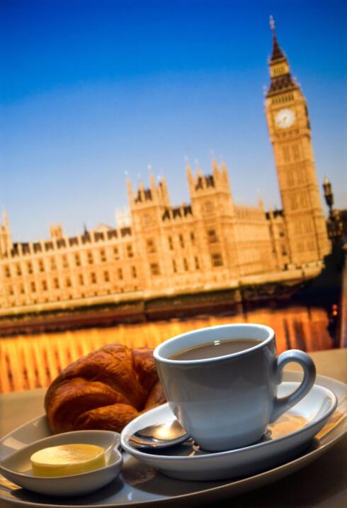 BREAKFAST: Start dagen på et sted som fjerner alle tvil: Du er i London. Foto: Alamy