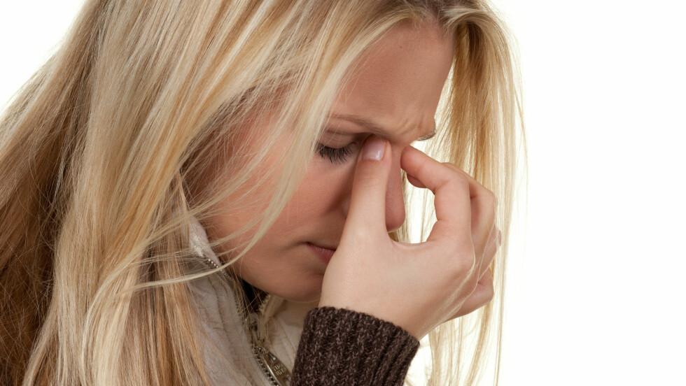 HODEPINE: De fleste tilfellene av hodepine i dagens samfunn er det man kaller spenningshodepine eller stresshodepine.  Foto: Picture-Factory - Fotolia
