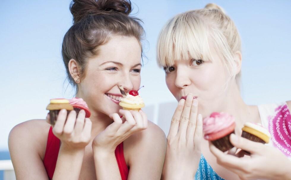 NEI MAT: Dessverre - saftige muffins er fulle av raske karbohydrater ... Foto: All Over Press