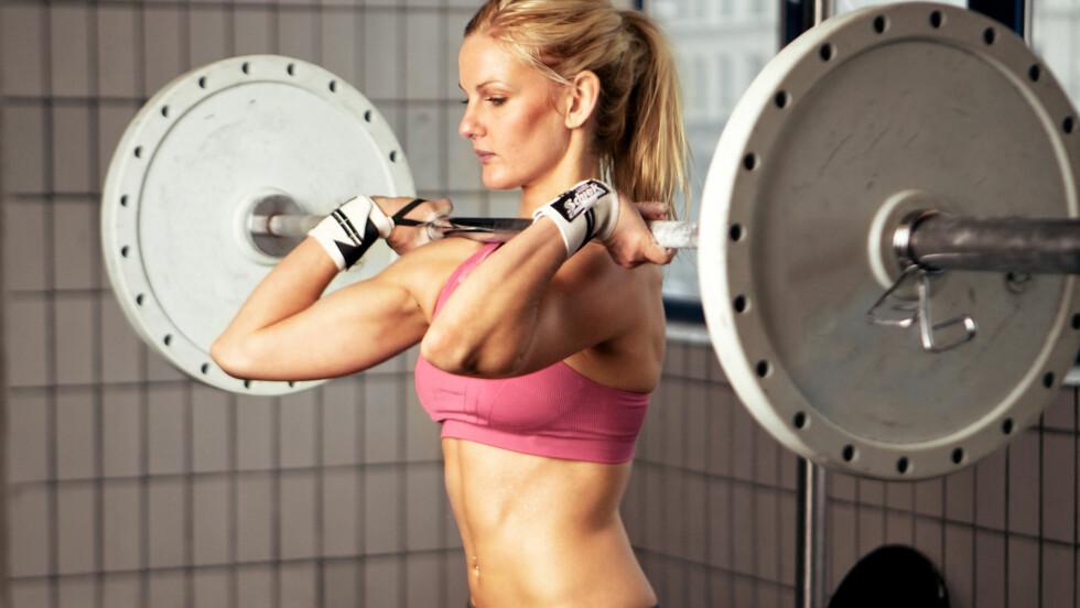 """OVERDREVEN FOKUS PÅ FITNESS: - Det er ingen tvil om at det nye fitnessbegrepet """"strong is the new skinny"""" kan trigge at flere unge utvikler (alvorlige) spiseforstyrrelser, sier eksperten. Foto: Ammentorp - Fotolia"""