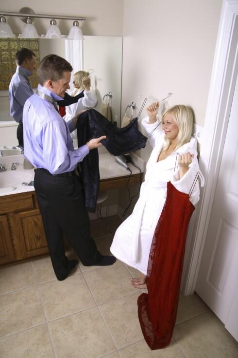 ER DEN FIIIIN?: Jada sier kjæresten din om kjolen. Men - mener han det, egentlig?