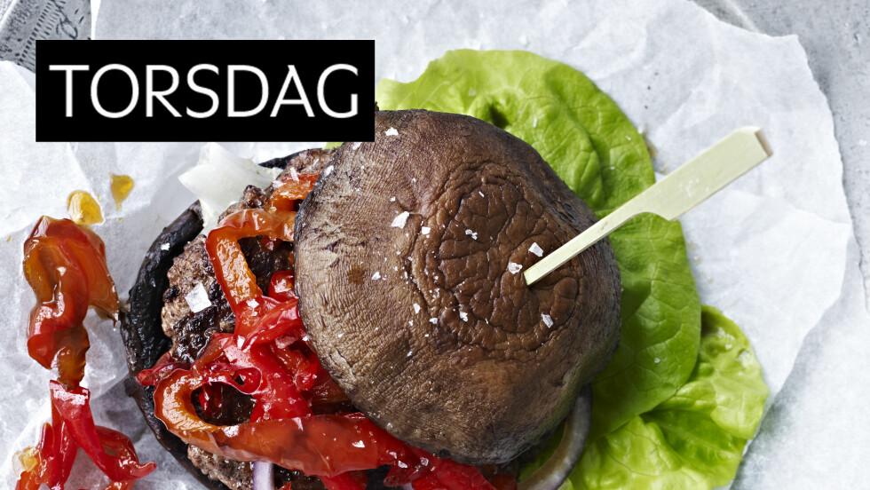 MORSOM VRI: Denne burgeren er litt utenom det vanlige, og kjempegod! Foto: All Over Press