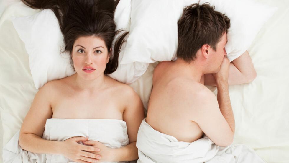 SEXTØRKE: Lite sex kan være negativt for helsen, mener sexolog og gestaltterapeut Bianca Schmidt.  Foto: andreusK - Fotolia