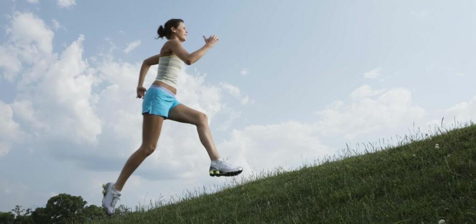 GRIP SJANSEN: Lyse vår- og sommernetter gjør det mulig å jogge sent. Foto: Thinkstock