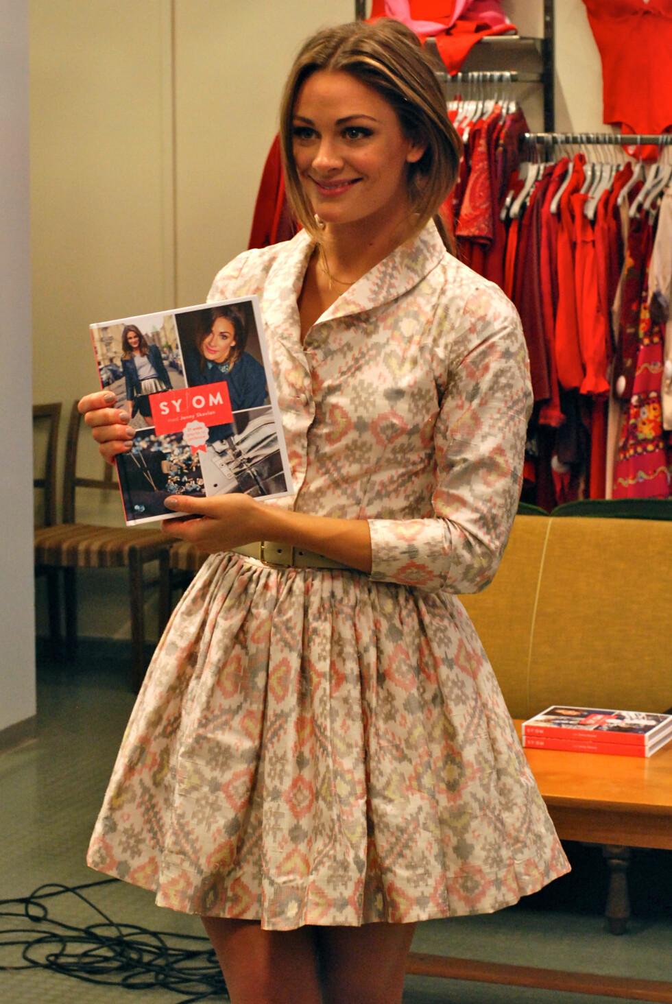 KK traff Jenny da hun lanserte sin egen Sy Om-bok i 2012. Foto: Aina Kristiansen