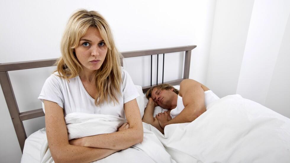 """SLUTTET Å HA SEX?: Det er slett ikke så uvanlig at par går gjennom perioder med såkalt """"sextørke"""". Foto: REX/Mood Board/All Over Press"""