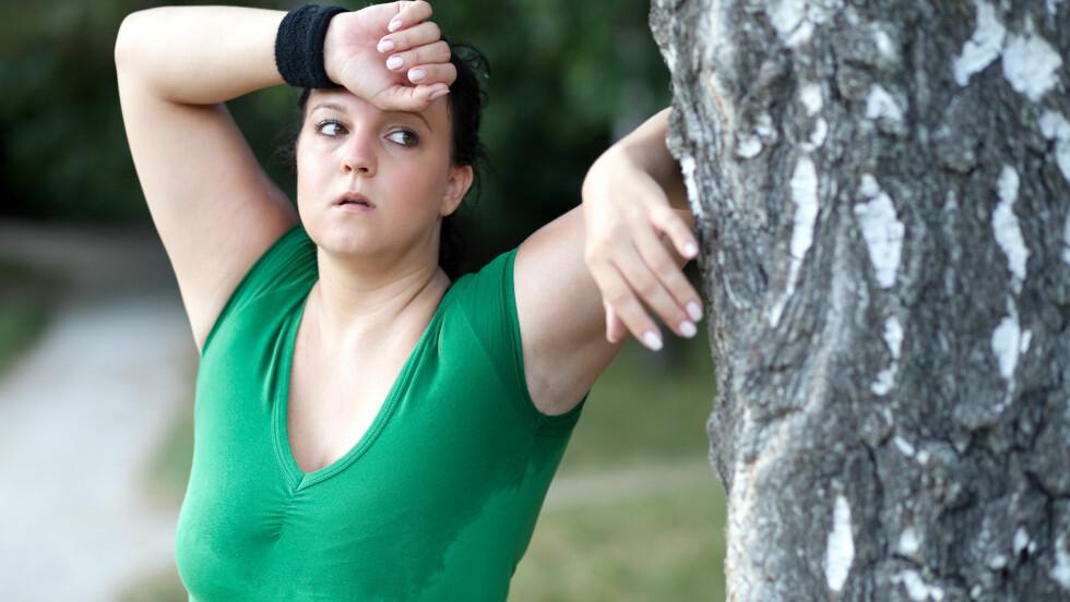 LEI AV Å IKKE SE RESULTATER?:  Hva er grunnen til at vekten ikke går ned når du følger alle råd om hva som skal til for å gå ned i vekt? Foto: berc - Fotolia