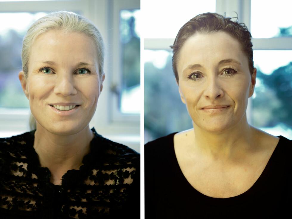 MATCHMAKERE: Fagansvarlig Elizabeth Haugsmoen (t.v.) og daglig leder Gry Olaussen har startet firmaet L`Ardour.   Foto: L`Ardour