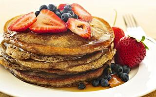 Pannekaker som er topp for helsa