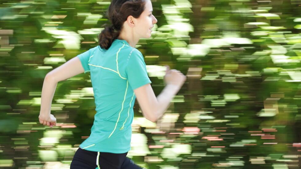 HARDT OG INTENST: Å trene  hardt og intenst er veldig bra for helsa, tidseffektivt er det også! Foto: eyeQ - Fotolia