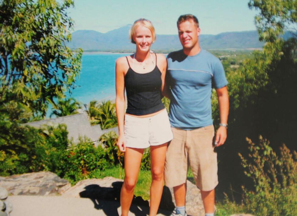 STUDERTE SAMMEN: Benedikte bodde to år i Australia sammen med samboeren Joakim. – Jeg hadde lenge planlagt å reise dit for å studere. Til min store overraskelse hadde han lyst til det samme, sier hun.