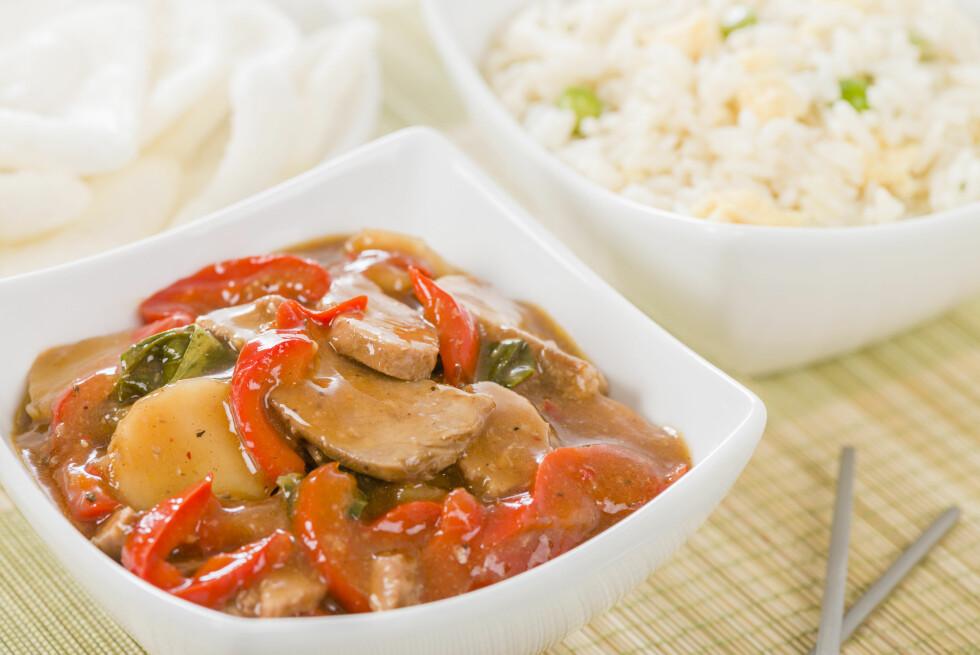 TAKEAWAY: Er også blant maten som trigger sultfølelsen.  Foto: paul_brighton - Fotolia