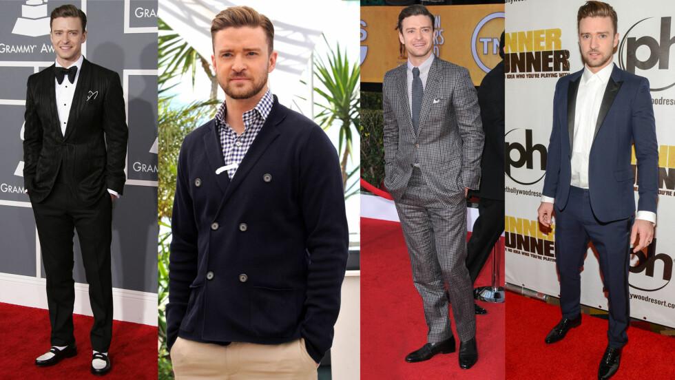 ÅRETS BEST KLEDDE MANN: Norgesaktuelle Justin Timberlake er kåret til årets best kledde mann. Foto: All Over Press