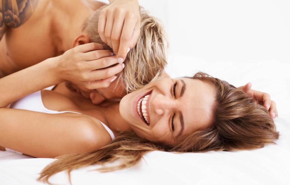 IKKE TENK FOR MYE PÅ DE ROMANTISKE KLISJEENE: Selv om man ofte ønsker at sex skal være spontant, er det lurt å være forberedt.  Foto: Thinkstock.com