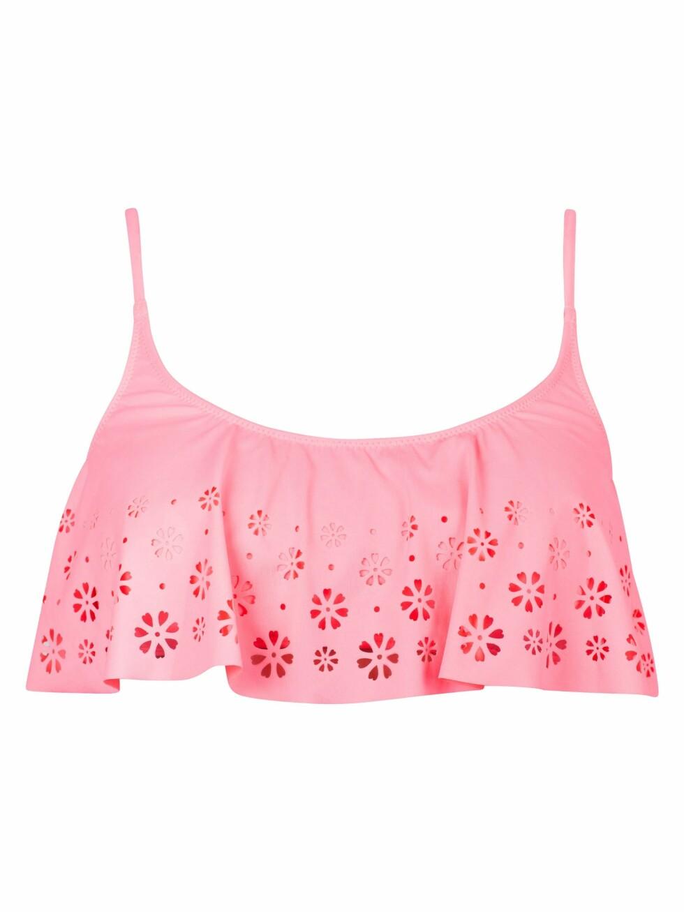 Rosa bikinitopp (kr 130, Cubus). Foto: Produsenten