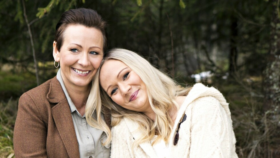 SPRØYTENARKOMAN: Line Sandøy fikk morskjærligheten satt på prøve da datteren Mathilde  fortalte at hun var sprøytenarkoman. Foto: Charlotte Wiig