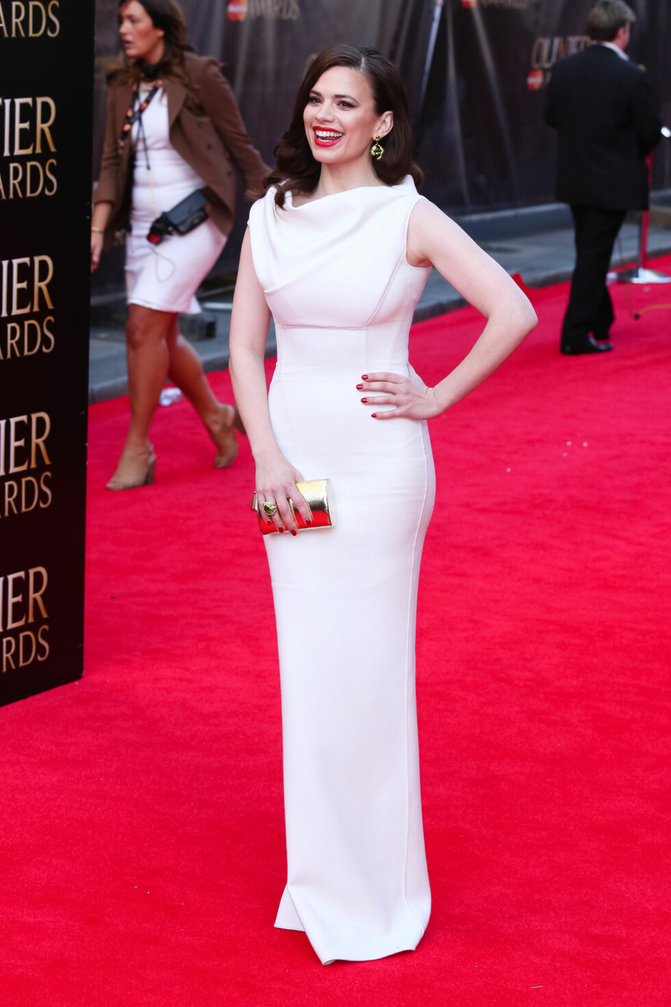 Laurence Olivier Awards: Hayley Atwell  Foto: exen / Splash News/ All Over Press