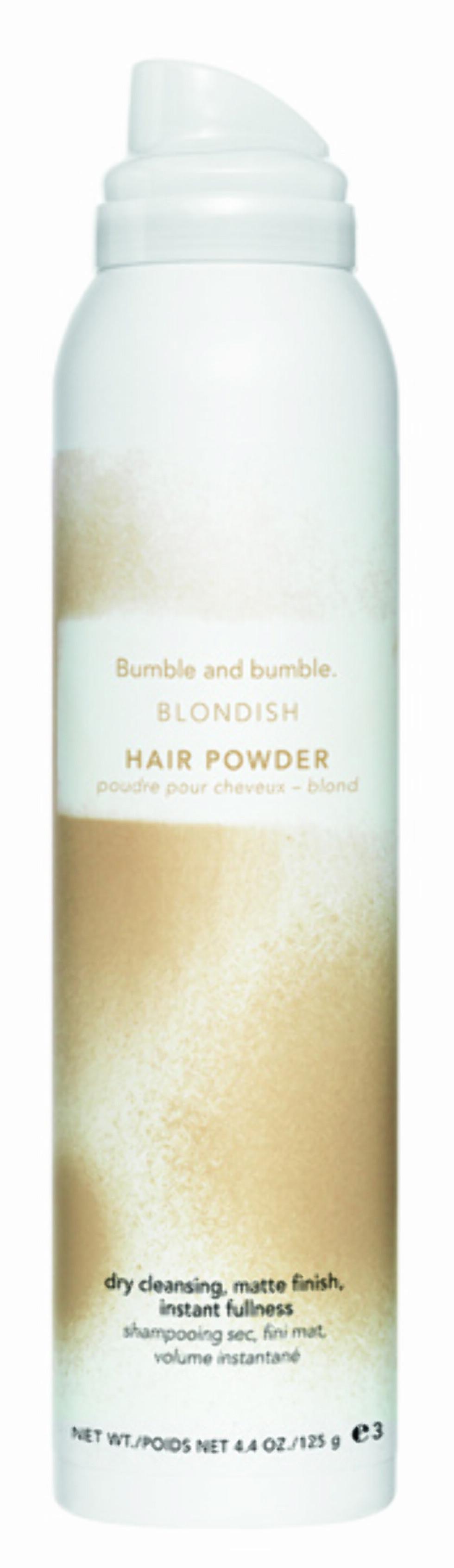 Hårpudder for blondiner fra Bumble and bumble. Kommer i to størrelser: 28 g, kr 235 og 125 g, kr 423.
