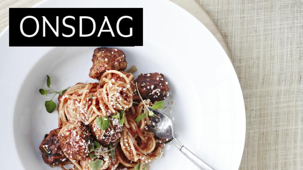 SELVLAGD ER VELLAGD: De beste kjøttbollene er definitivt de du lager selv. Foto: All Over Press