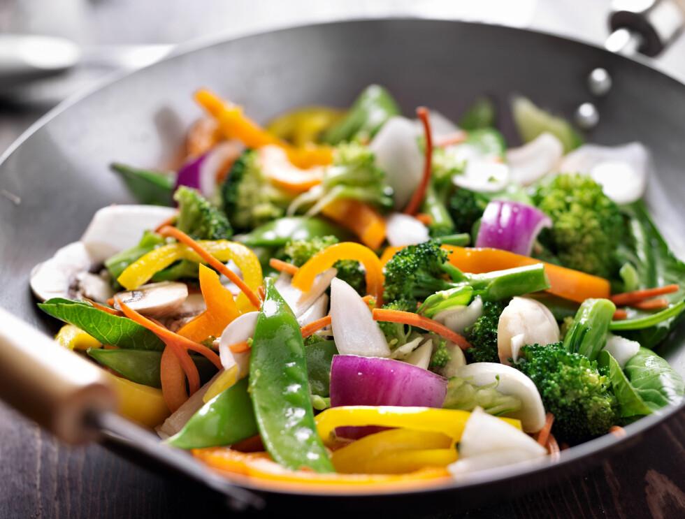 ETT MÅLTID ER BEST: Inge Thomas Ravlo kan fortelle at ett måltid i løpet av dagen er det som gir mest fordeler når du skal faste. Blir det vanskelig, er det imidelertid ikke noe galt i å spise flere - du må bare velge litt annerledes.  Foto: Joshua Resnick - Fotolia