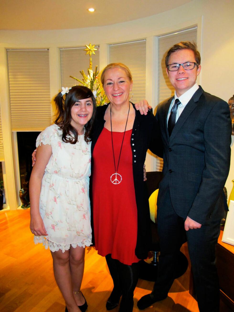 STØTTE: - Jeg var redd for ikke å få se mine egne barn vokse opp. Maia (13) og Bjørn-Marius (19) var min motivasjon, sier Heidi.