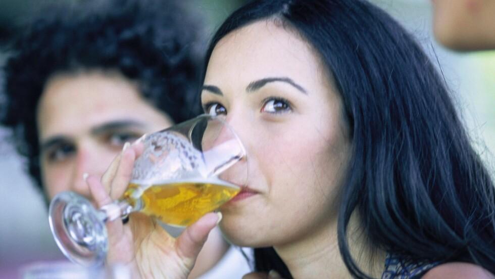 GREIT MED LITT ØL: En øl eller to i helgen skal du få lov til å unne deg!