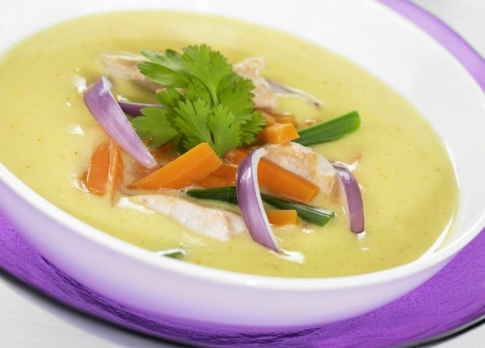 FRISK DEN OPP: Tilsett friske og næringsrike grønnsaker og gode kilder til protein som kylling, kjøtt eller bønner.