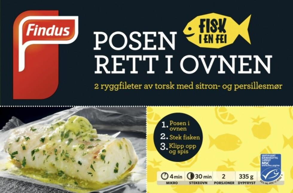 KJAPT OG SUNT: - Frossenfisk er et fullgodt produkt og akkurat like næringsrikt som fersk fisk, sier eksperten. Foto: Findus