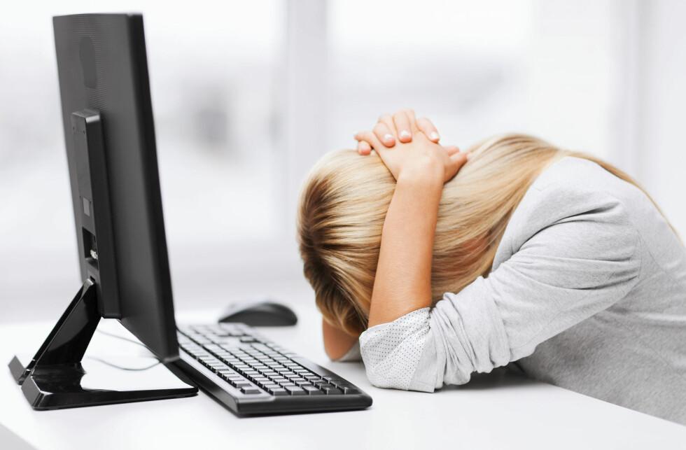 PÅ NETT: Ifølge forsker Kjersti Narud opplever stadig flere stalking på nett.  Foto: All Over Press