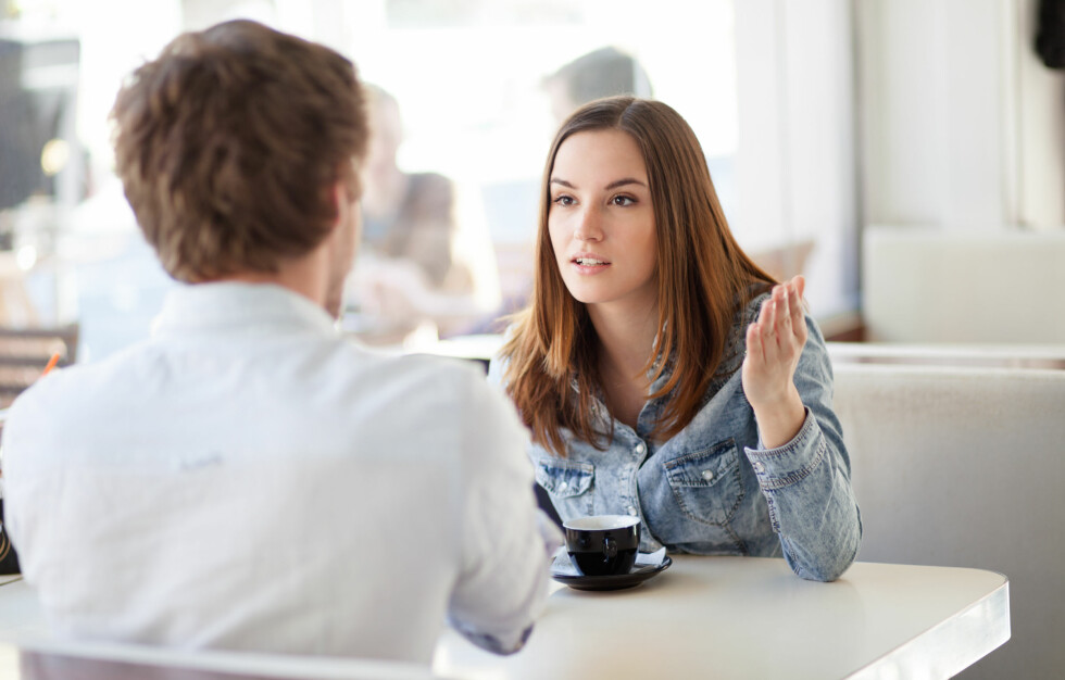 <strong>IKKE BLI SINT:</strong> Om du sier at du elsker partneren din og han ikke sier det samme tilbake, trenger ikke dette bety at han ikke elsker deg. Kanskje han rett og slett ikke er klar for å si det.  Foto: berc - Fotolia