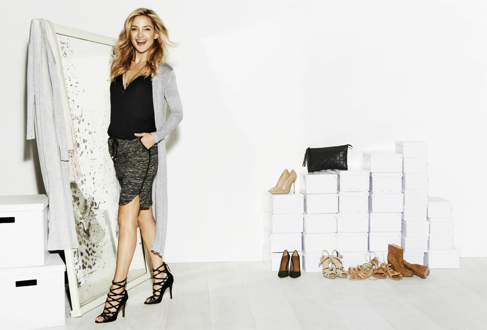 Kampanjebilder: Kate Hudson for Lindex