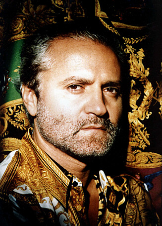 GIANNI VERSACE: Ble skutt i 1997. Foto: All Over Press