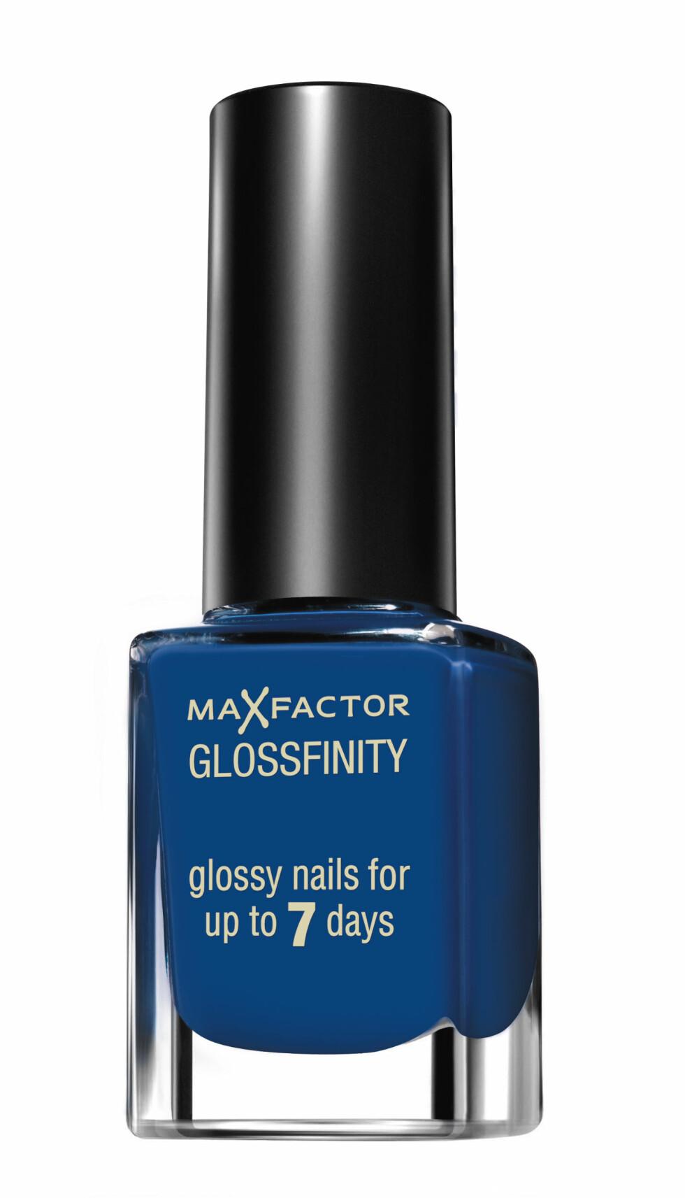 Cobalt Blue fra Max Factor Glossfinity, kr 99.