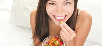 Litt godteri hver dag kan være bra for helsa
