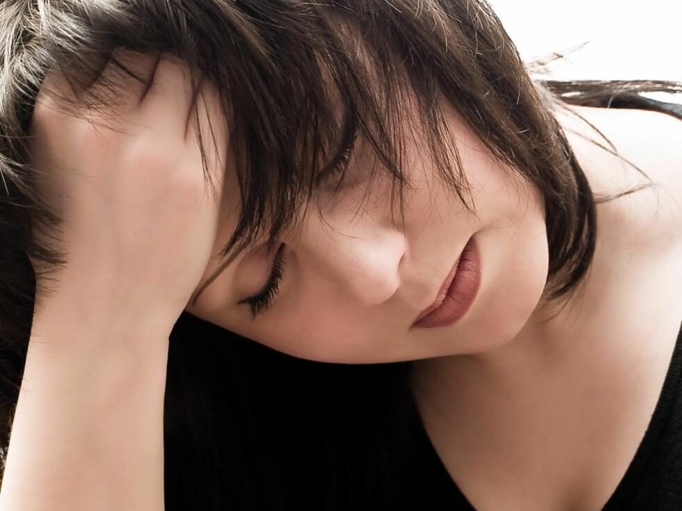 HENGER SAMMEN MED PSYKEN: Studier viser at mange av de som sliter med irritabel tarm også har psykiske plager. Men om det er psyken som forårsaker tarmproblemene, eller tarmen som påvirker psyken, strides det fortsatt om. Foto: Colourbox.com