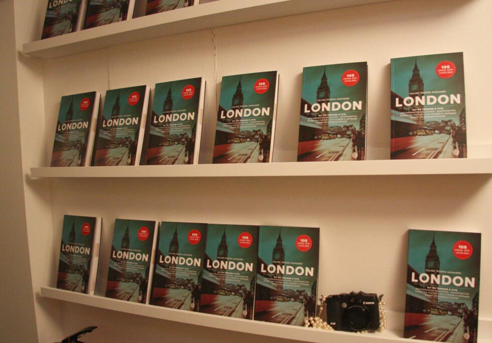LONDON - 105 UNIKE OPPLEVELSER: Boken er i salg nå, og koster kr 350. Foto: KK