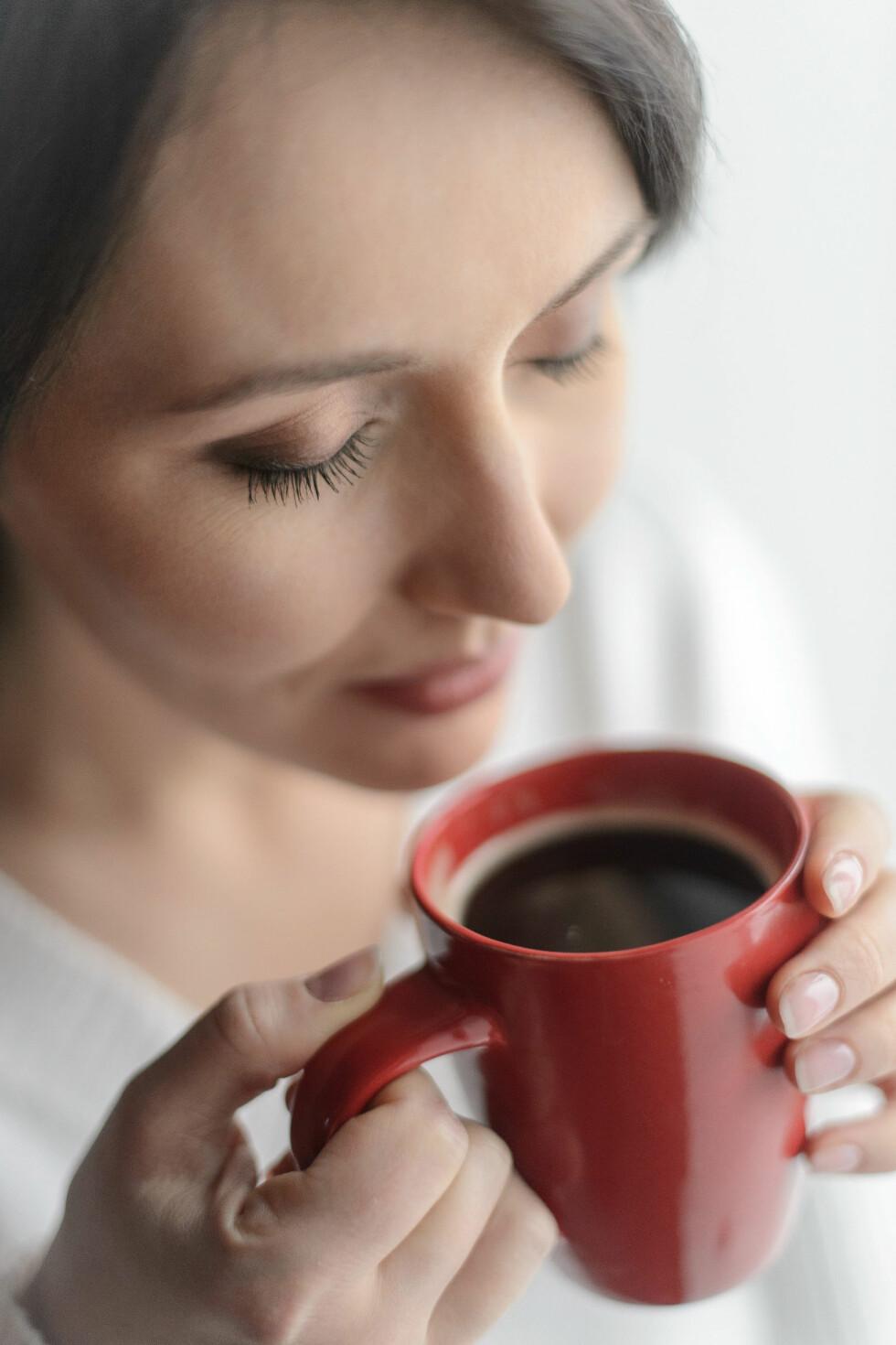 HVERDAGSLYKKE: For mange av oss er den daglige kaffen en stor del av hverdagen.  Foto: Fotolia