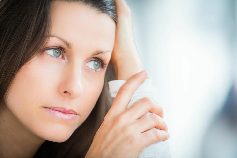 DEPRESJONER: Mange som selvskader seg selv, strever også med depresjoner og selvmordstanker.  Foto: All Over Press