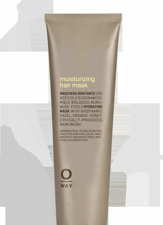 Moisturizing Hair Mask fra O-Way, kr 239.  Foto: Produsenten