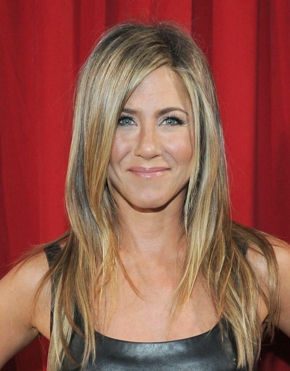 JENNIFER ANISTON - FIRKANTET ANSIKT.  Foto: All Over Press