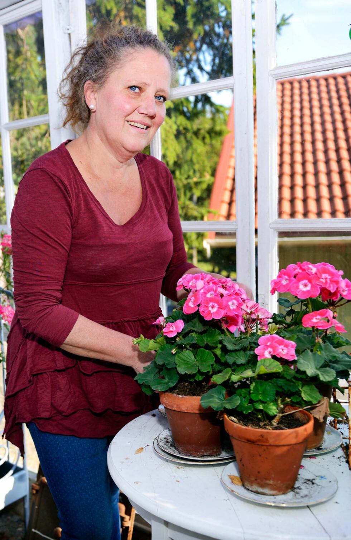 TRAVEL: - Jeg driver egen blomsterforretning og har en ekstrajobb, derfor er det enkelt å spise ferdiglaget suppe på fastedagene, sier Suzanne Norling.