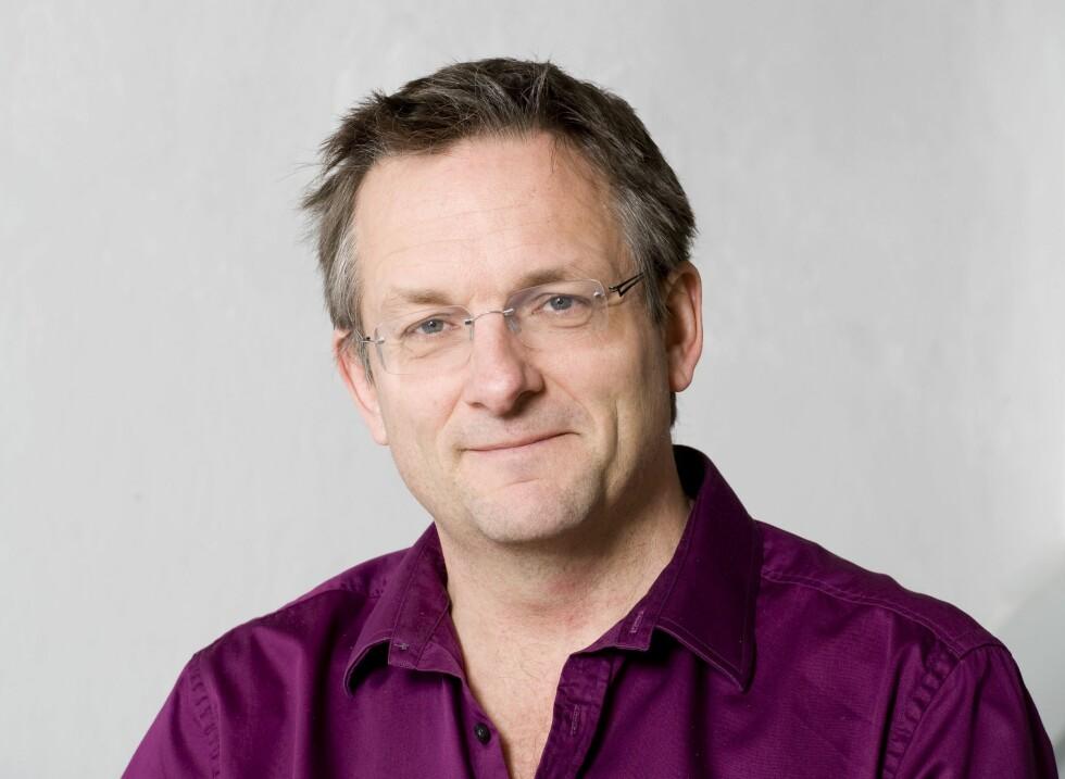 5:2 OG 6:1: Britiske Michael Mosley er mannen bak fastedittene. Foto: All Over Press
