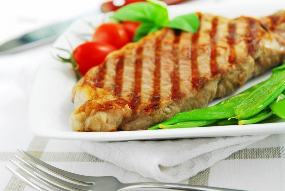 TILSETT FARGER: Spiser du lavkarbo, sørg for å få i deg mye grønnsaker, det forebygger mot nyresykdom.   Foto: All Over Press