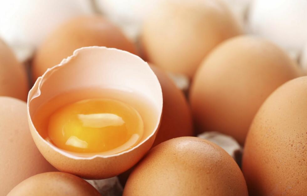 SPIS EGG: Egg er en fantastisk matvare som inneholder nesten alle næringsstoffene som kroppen trenger. Deriblant kolin, som er et viktig B-vitamin for hjernens helse. Foto: Thinkstock