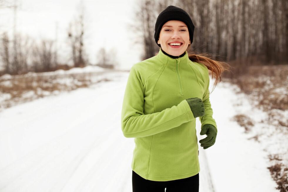 TARMBEVEGELSE: Når du løper er tarmene dine i stor bevegelse og presses sammen. Dette gjør at du får behov for å gå på do.  Foto: Fotolia
